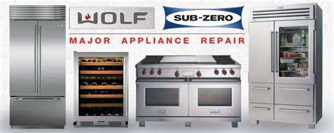 Sub Zero and Wolf Appliance Repair Service Chesterfield