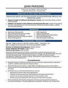 sample resume for an experienced it developer monstercom With how to format resume for candidate management systems