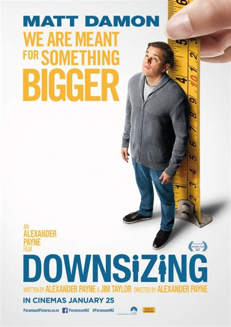 Image result for downsizing film poster