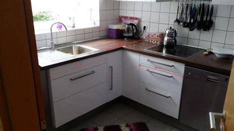 Küche Ikea Faktum Abstrakt Hochglanz Weiß In Kornwestheim