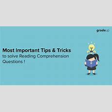 How To Solve Reading Comprehension Efficiently  Important Tips & Tricks