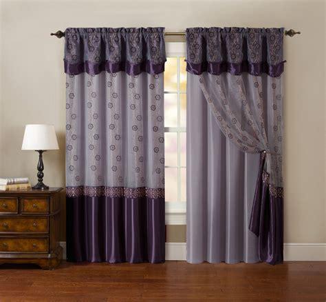 window drapes and curtains one window curtain drapery sheer panel plum purple