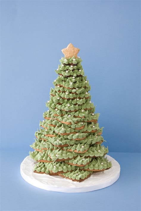 gingerbread cookie christmas tree cakejournalcom