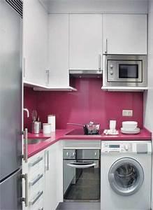Winsome design interior in small kitchen modular designs for Image of small kitchen decoration