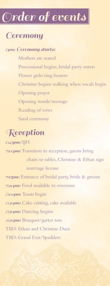 ethan  christines marriage covenant vows order