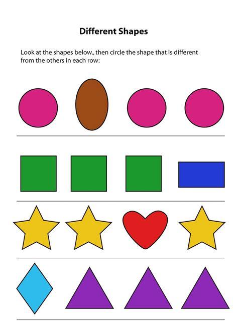 Same Or Different Worksheets For Toddler  Activity Shelter