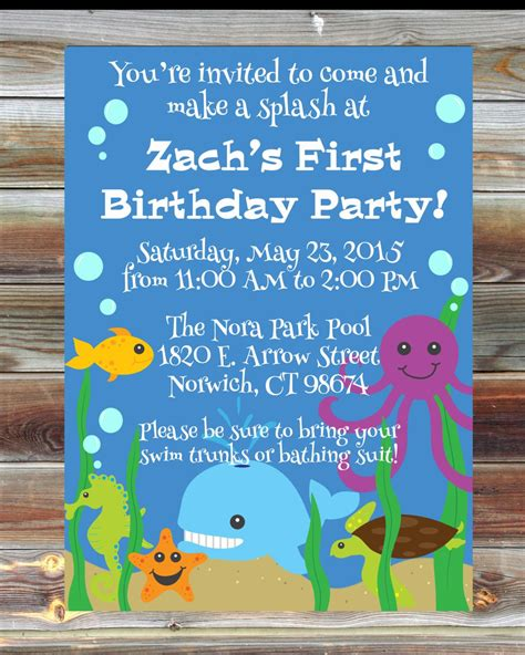 1st birthday party ideas birthday quotes printable custom birthday invitation for boy