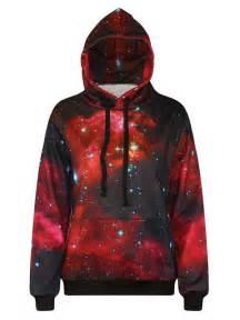 Red Galaxy Sweatshirt