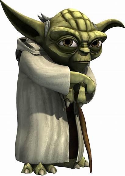 Yoda Wars Star Starwars Transparent Render Clipart
