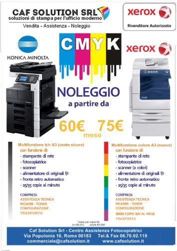 Forniture Per Ufficio Roma Forniture Per Ufficio Fotocopiatrici Caf Solution Srl