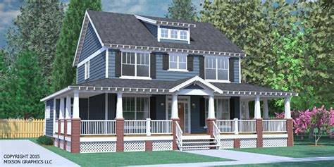 2 Bedroom House Plans With Porches by Houseplans Biz House Plan 2234 2 B The Gregg B