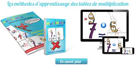methode apprentissage table de multiplication multimalin multi malin