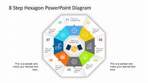 8 Step Hexagon Powerpoint Diagram