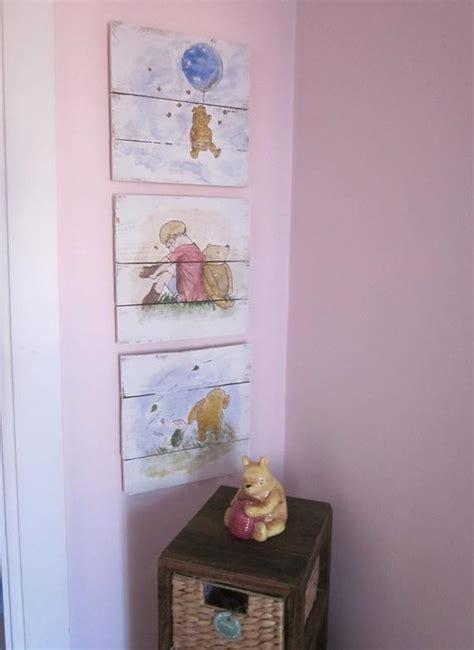 vintage winnie the pooh nursery decor classic winnie the pooh nursery set