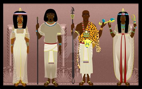 Ancient Egyptian High Class By Sanio On Deviantart