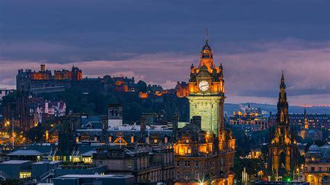 Edinburgh Skyline Bing Wallpaper Download
