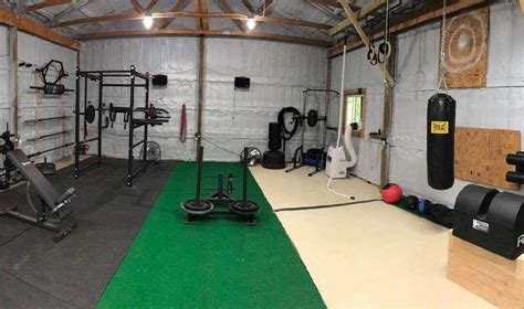 turn  garage   personal gym  stay fit  home
