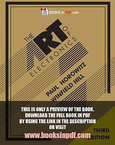 The Art Of Electronics 3rd Edition Pdf Free Download