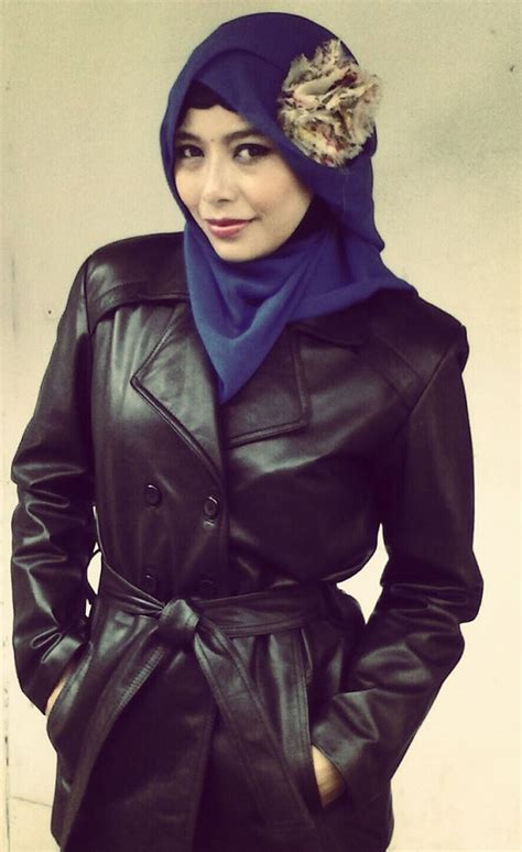 jual jaket kulit muslimah berhijab jual jaket kulit