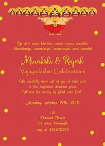 Invite Maker Online Free Dussehra Invitation 4 Naming Ceremony Invitation Naming