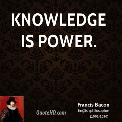 Best Quotes On Knowledge Is Power