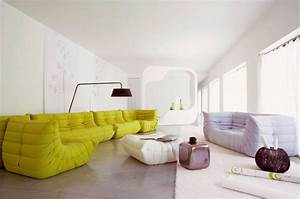 Canapé Style Togo : canap togo design ultrabright les grands ducs ~ Voncanada.com Idées de Décoration