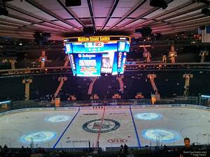 Section 211 At Square Garden New York Rangers
