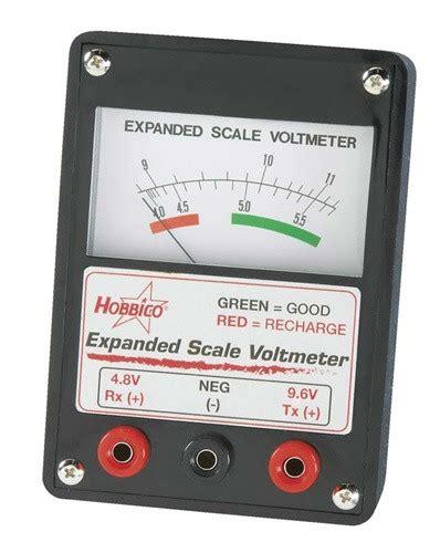 Hcap Hobbico Expanded Scale Voltmeter Remote