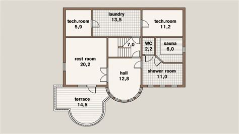 200 Square Meter House Floor Plan 200 Square Meters Duplex
