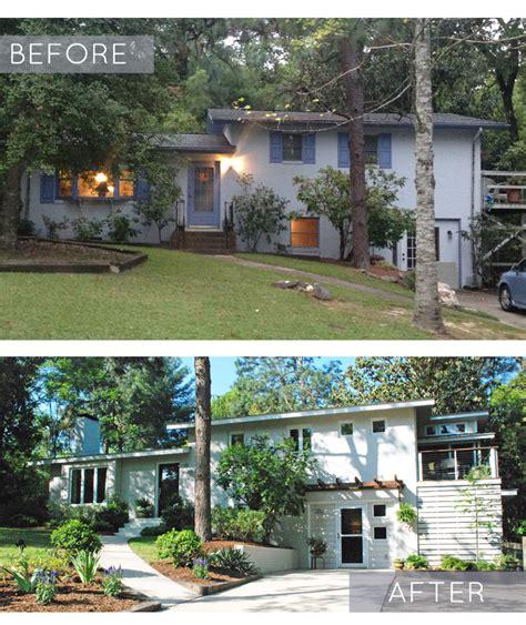 fresh split level house renovation before and after split level remodel
