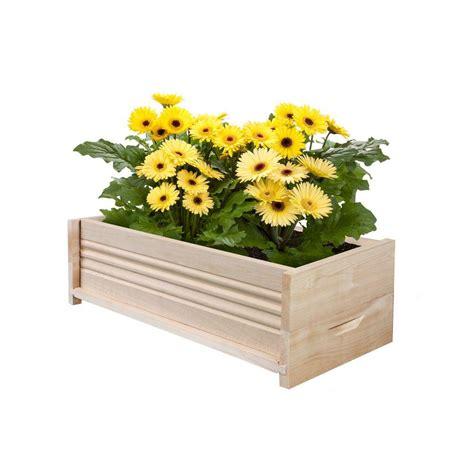 cedar planter box greenes fence 24 in l cedar planter box rcpb1224 the
