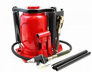 32 Ton Air    Manual Pneumatic Hydraulic Bottle Jack