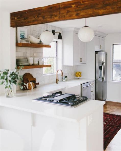Kitchen Peninsula by 43 Kitchen With A Peninsula Design Ideas Decoholic