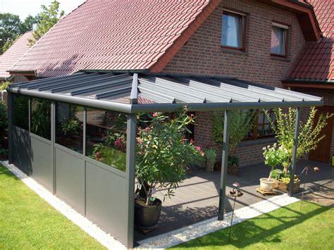 Dachueberstand Schutz Vor Wind Und Wetter by Aluwint Aluminium Winterg 228 Rten Zevenbergen