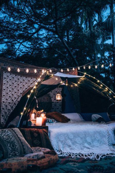 perfect cosy evening set   lights throws