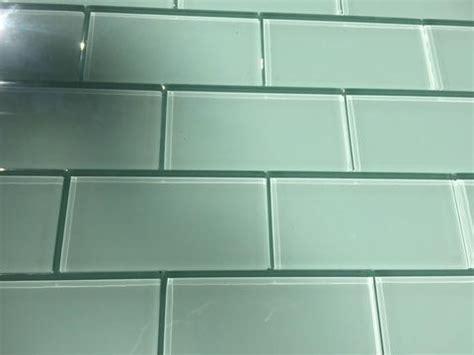 glass subway tile installation patterns vicci design