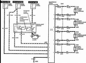 2000 Ford Taurus Radio Wiring Harness Diagram