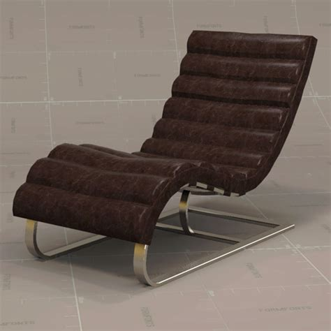 oviedo leather chair 3d model formfonts 3d models textures