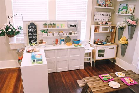 A Home With A Play Area For by Diy Play Kitchen Pretend Play Area At Home With Natalie