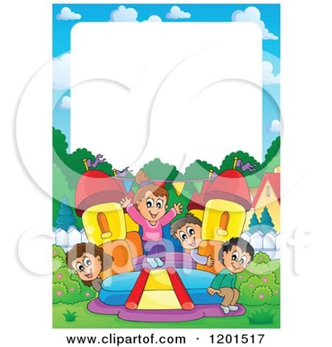 colorful bouncy house castle posters art prints by visekart interior wall decor 1189547