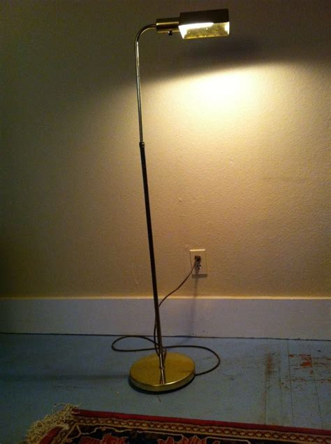 floor l with table vintage vintage floor l desk study reading light antique gold