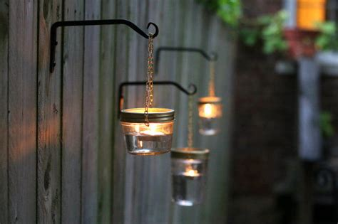 diy outdoor hanging jar lights pictures photos and
