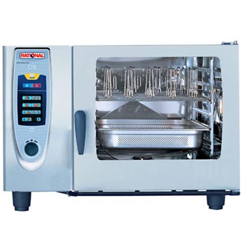 rational cuisine rational sccwe61e combi steamer self cooking center