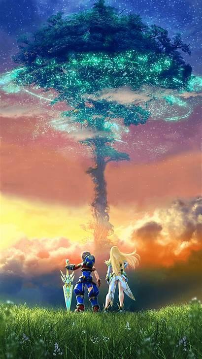 Xenoblade Chronicles Rex Mythra Landscape Definitive Edition