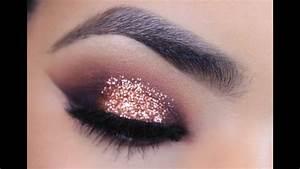Rose Gold Sprühlack : rose gold glitter makeup tutorial youtube ~ A.2002-acura-tl-radio.info Haus und Dekorationen