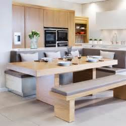 integrate booth seating kitchen islands that really work