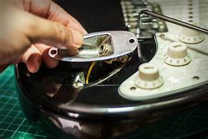How To Tighten A Loose Input Jack On A Stratocaster Guitar