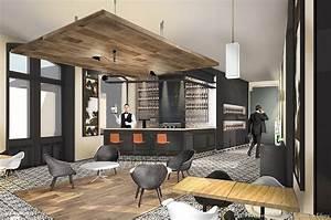 Bar D Interieur : bar vin paris m ler les codes pour cr er une nouvelle image camille tifany architecture ~ Preciouscoupons.com Idées de Décoration