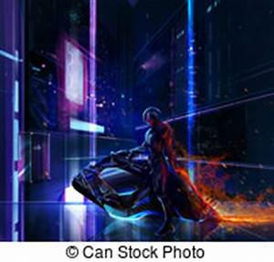 Sci fi Illustrations and Clip Art 21 076 Sci fi royalty