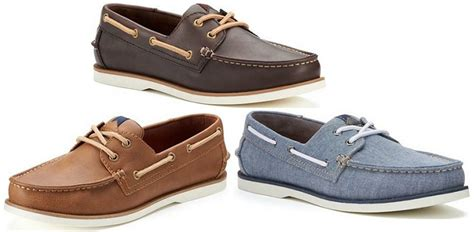 Sonoma Boat Shoes by S Sonoma Lace Up Boat Shoes 27 19 Reg 69 99 At